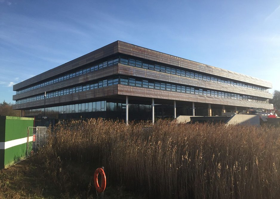 Ryder Architecture, Durham University Mathematical and Computer Science Building, completing end of 2020.