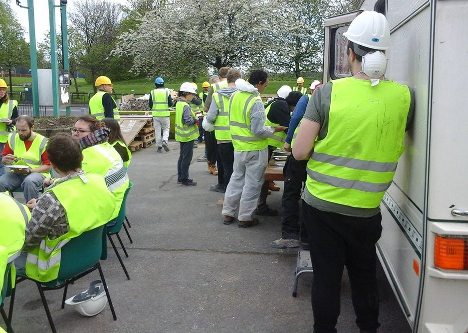 Over 200 volunteers came together to help strip out and re-build the interior.