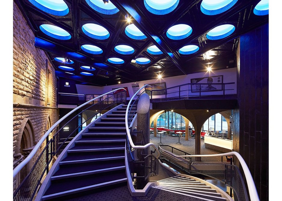 York Theatre Royal extension, York,  by de Matos Ryan Architects.