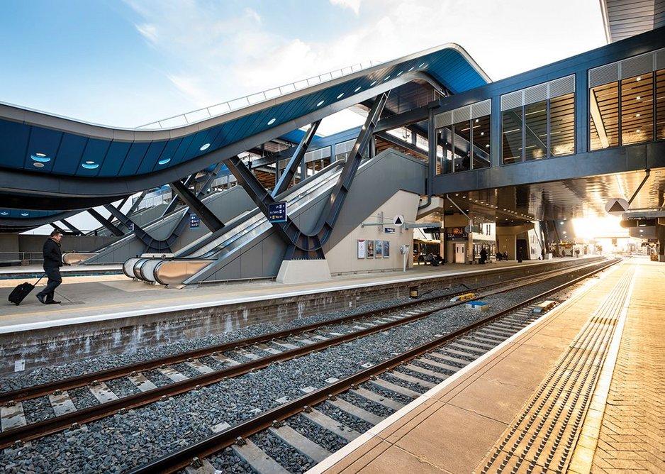 Reading Station, Reading, United Kingdom.