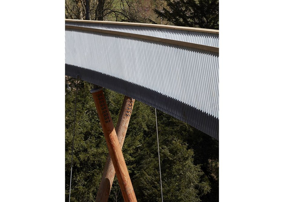 Commercial and leisure – Stihl Treetop Walkway, Wesonbirt Arboretum, second on the shortlist for Glenn Howells Architects.