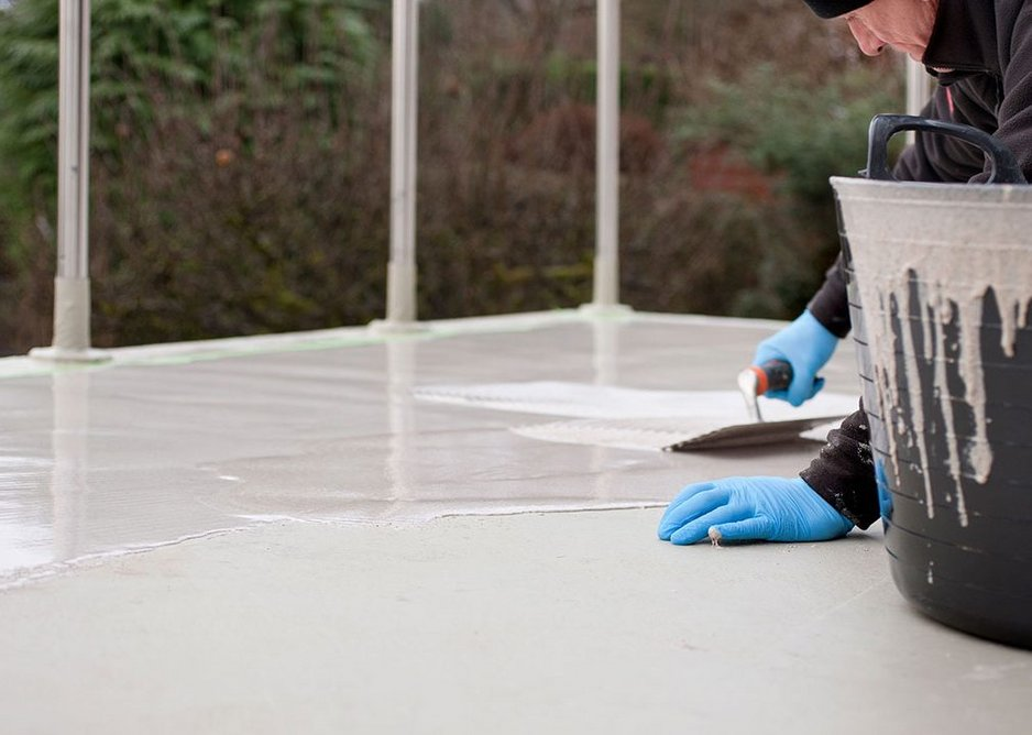 BMI Sealoflex Endura applied to a residential terrace.