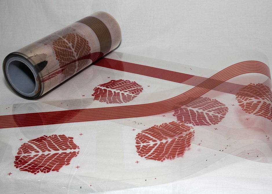 The system is based around a combination of gravure and rotary screen printing.