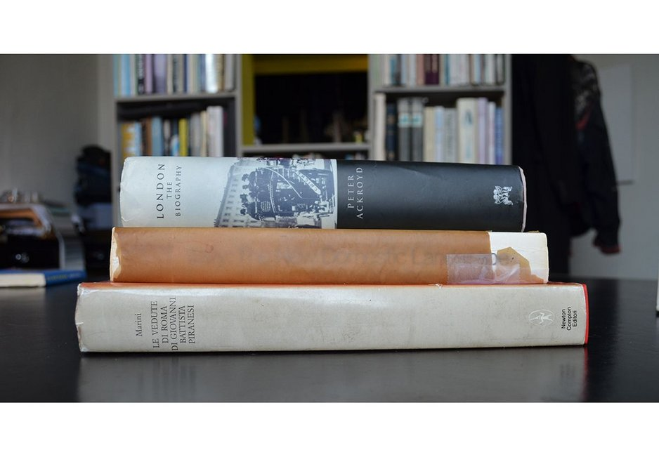 Asked to select three books that proved formative for different periods in his life, Coates chose: Italy: the New Domestic Landscape, Peter Ackroyd's London: the Biography, and Piranesi's Le Verdute di Roma.