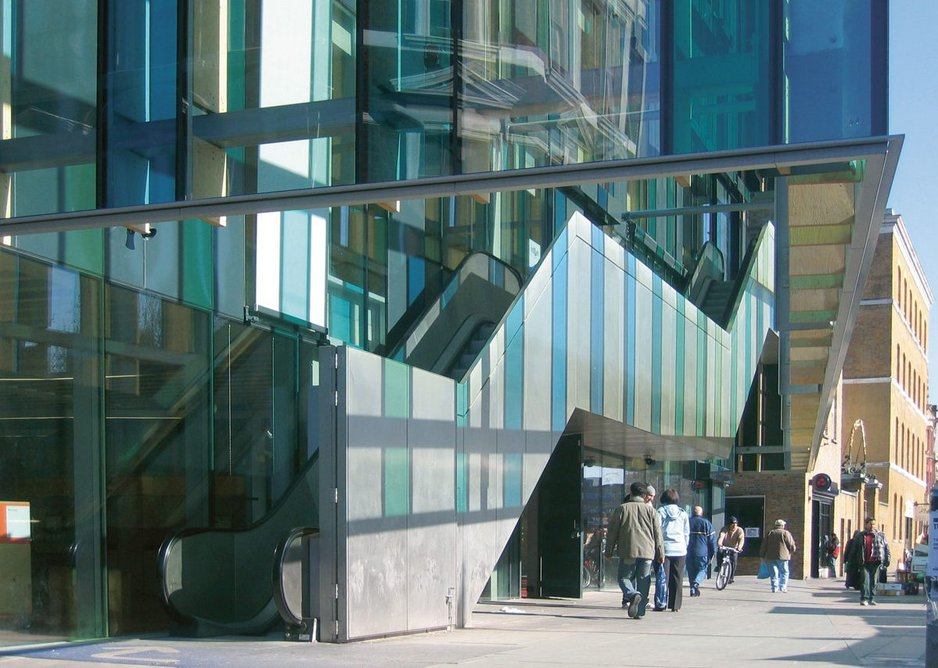 The Ideas Store in Whitechapel, London, for Tower Hamlets Borough Council was shortlisted for the Stirling Prize in 2006.