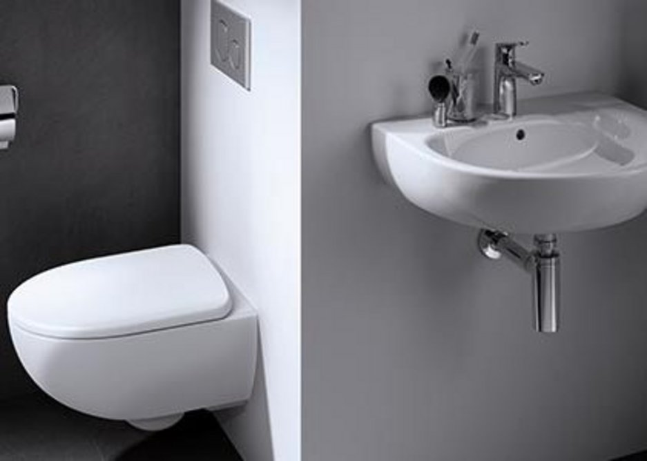 Geberit Selnova Compact from the Select Collection for stylish small spaces.