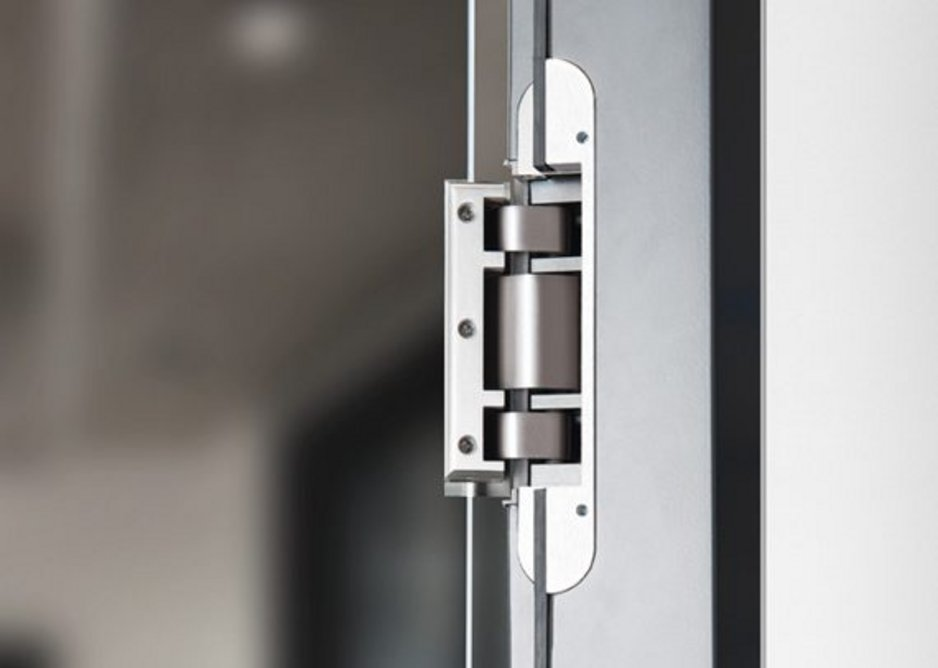 'Making something invisible is also design': The Tectus completely concealed hinge system by Simonswerk.