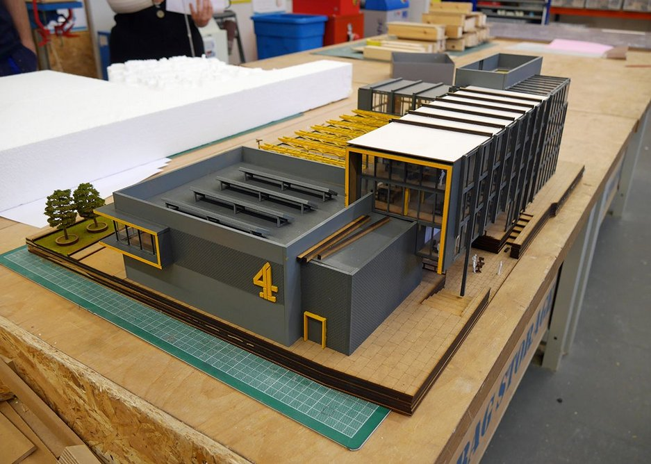 A product of the impressive model-making facilities on offer.