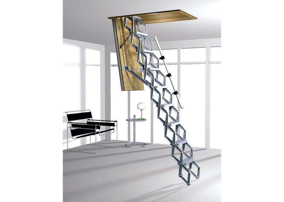 Supreme insulated trapdoor ladder
