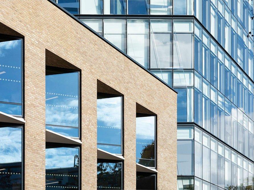 The new City Law School building was designed by award-winning practice WilkinsonEyre.