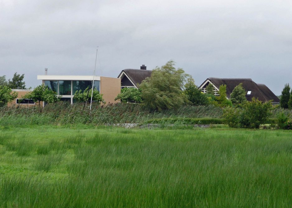 But the completed houses are relatively few and isolated