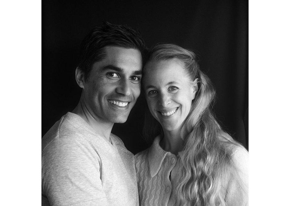 The architects - Mauricio Pezo and Sofia von Ellrichshausen.