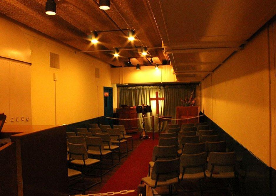 Chapel at Scotland's Secret Bunker, Troywood, Fife.