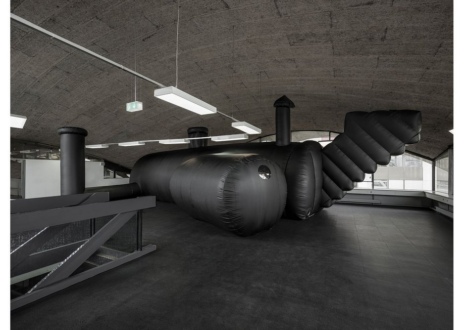 SHELTER Inflatable nightclub by Bureau A.