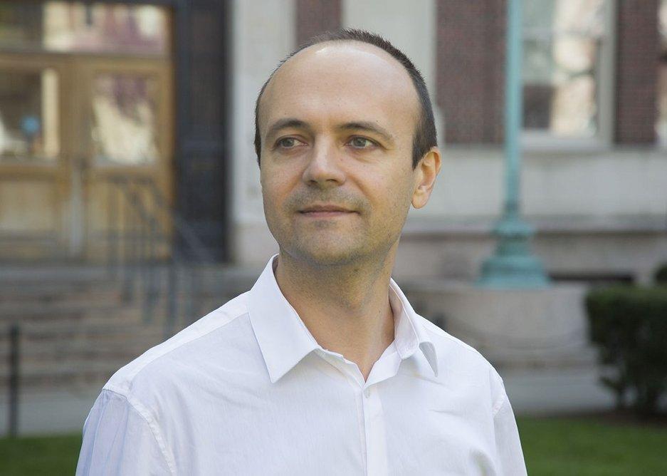 Jorge Otero-Pailos, April 2016.