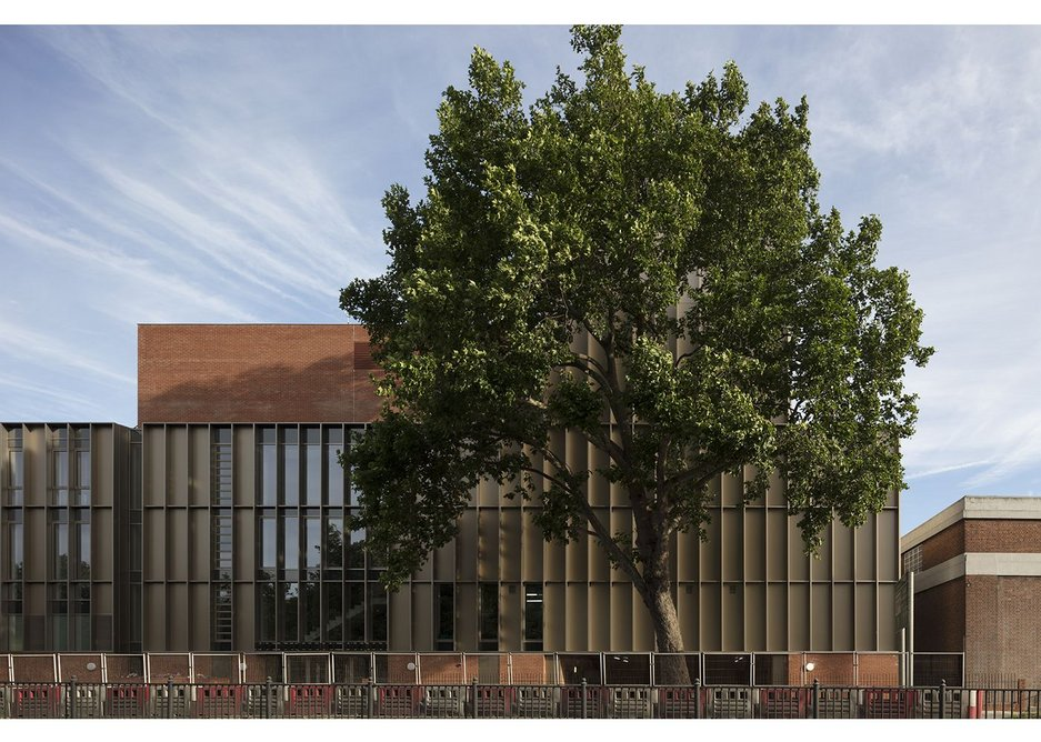 Well proportioned – and industrially inspired – the building has considerable presence.
