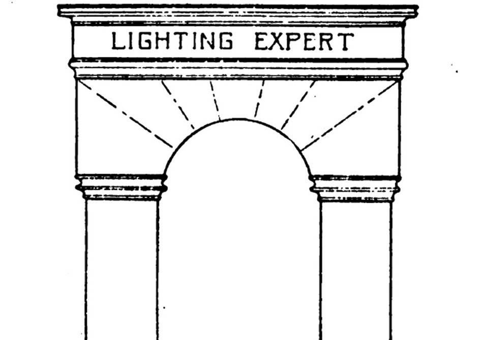 """Art and Science, twin pillars of the Lighting Expert. Matthew Luckiesh, """"Linking Science and Art with Practice in Lighting,"""" TIES 12 (Feb, 1917)."""