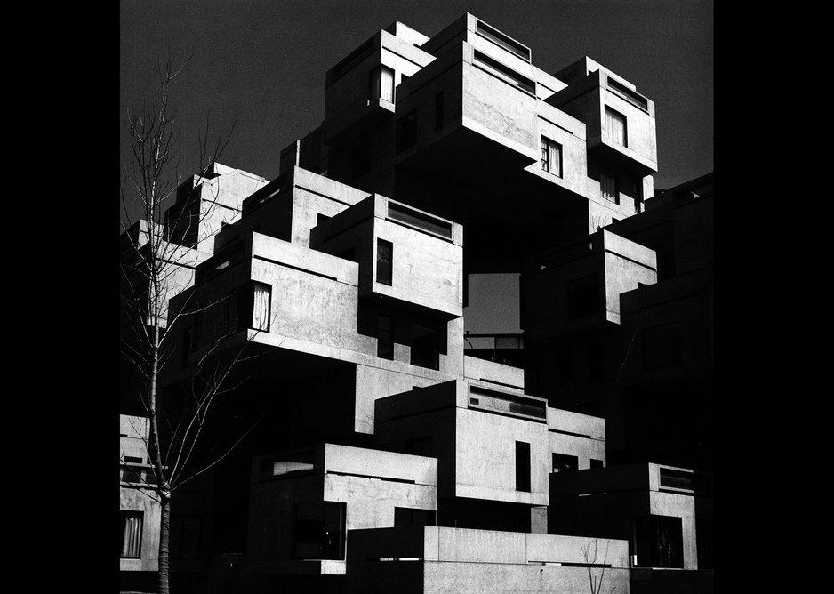 Habitat, Expo '67, Montreal, Moshe Safdie 1967.
