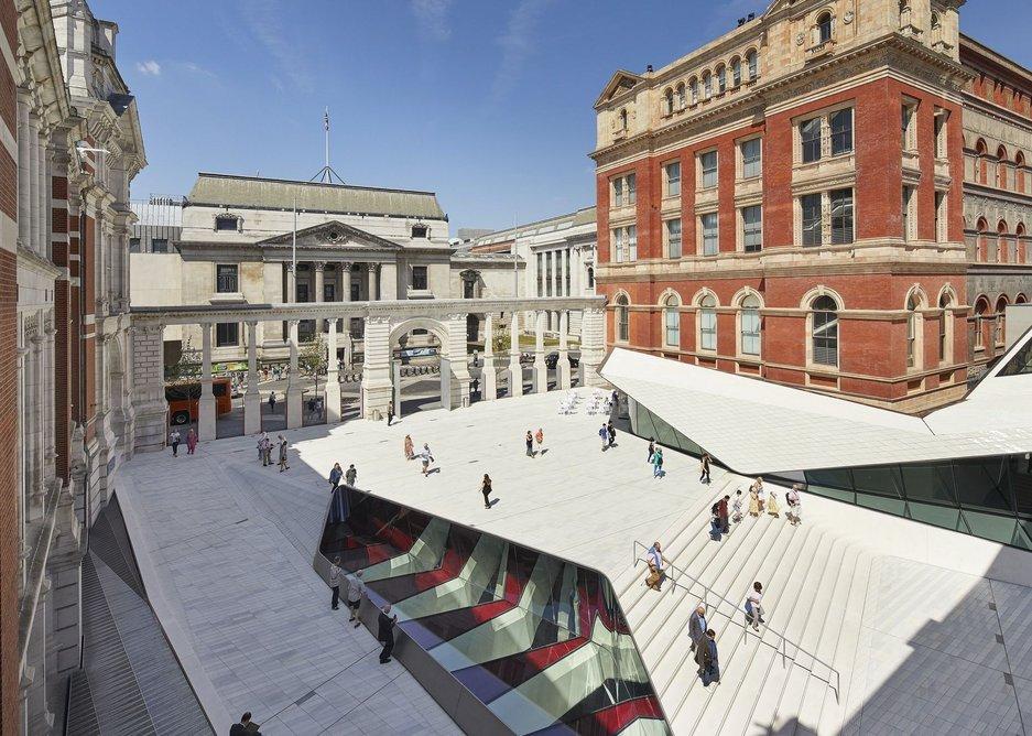 Victoria and Albert Museum Exhibition Road Quarter, South Kensington.