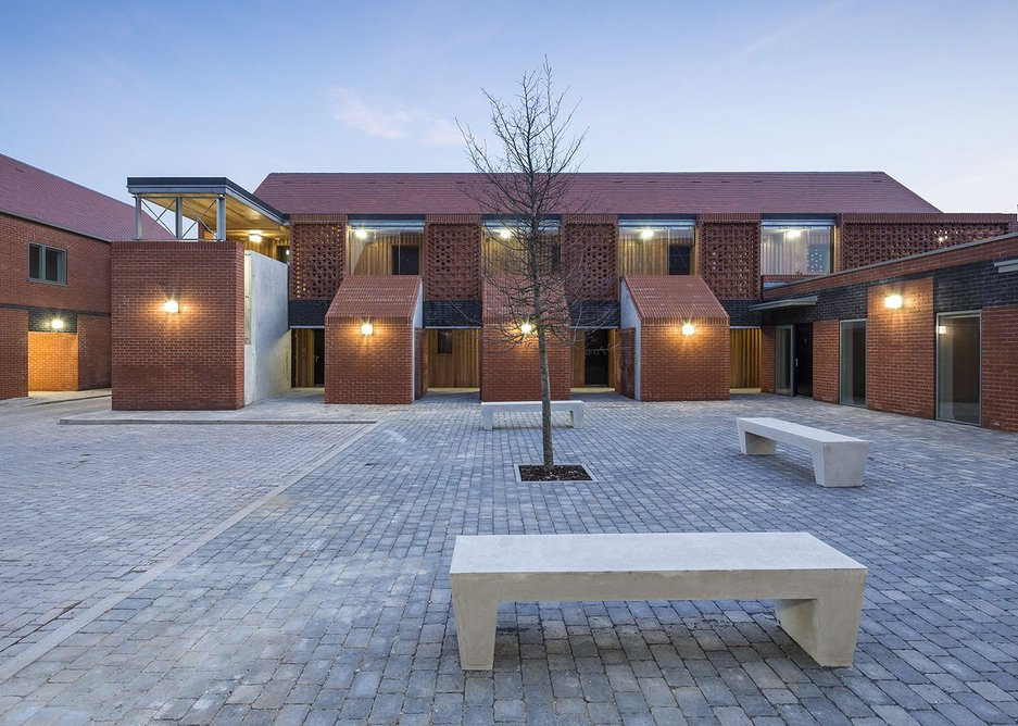 Access and overlooking are critical at Hargood Close, Colchester.