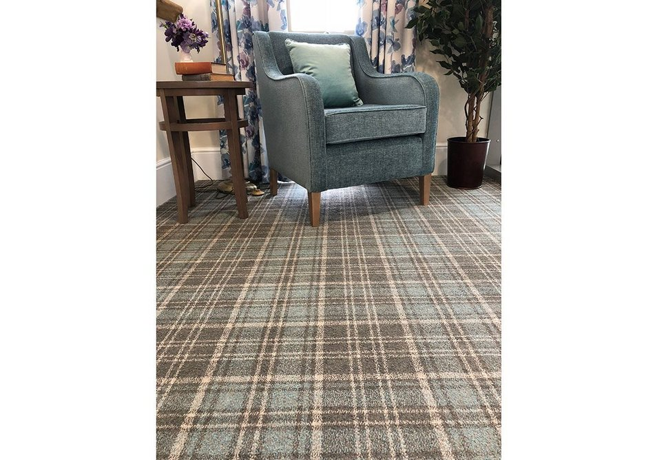 Origin 561 carpet from Danfloor's Evolution collection at Foxhunters care home.