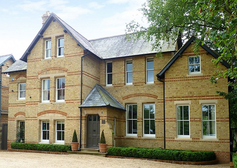 Cambridge Buff bricks provide a seamless transition for this extension.