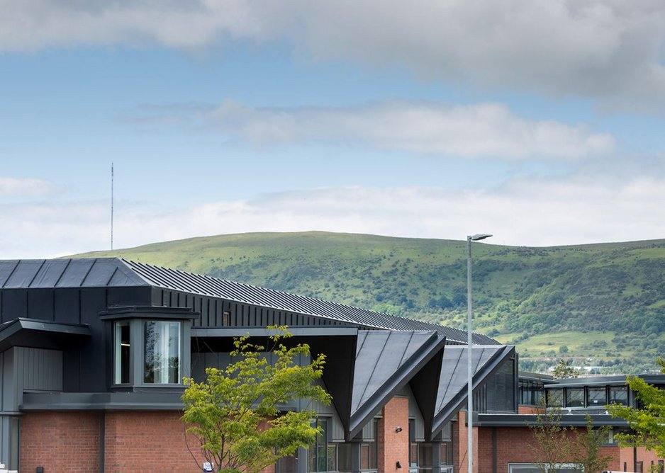 The wards are overlooked by the green hills surrounding Belfast. Credit Donal McCann