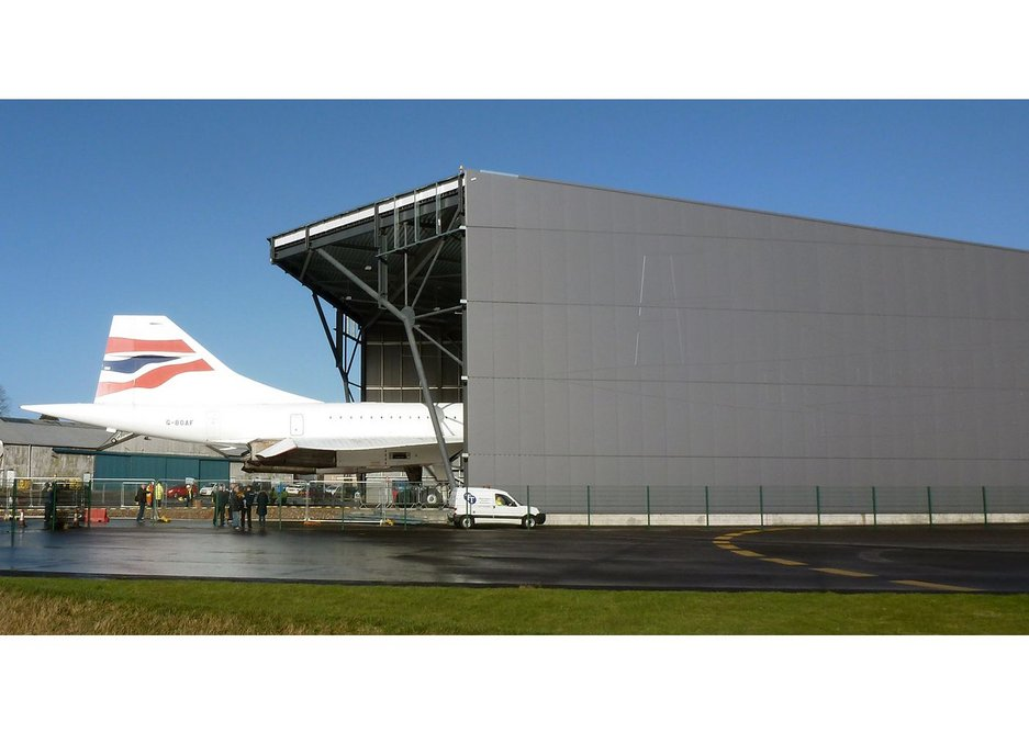 Breathnach-Hifearn was on site when Concorde moved into its new home.