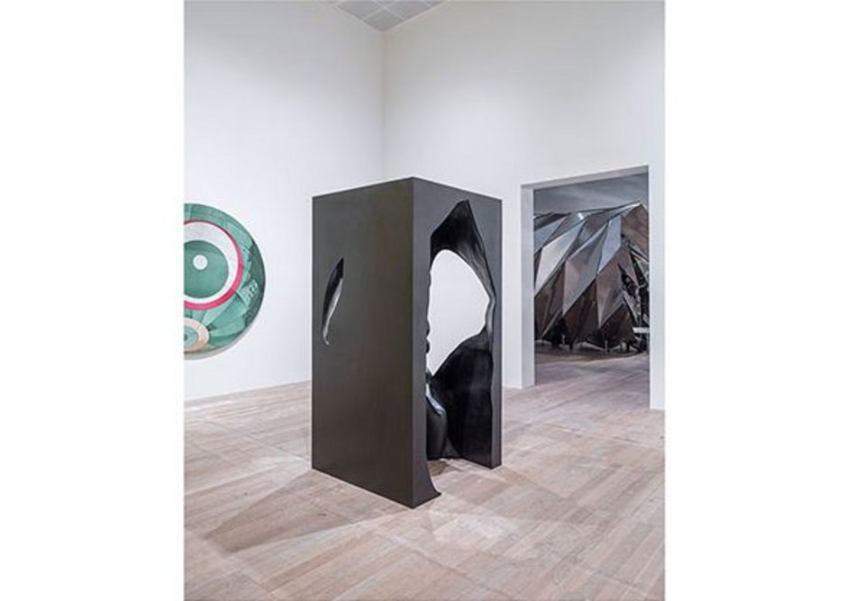 The presence of absence pavilion, 2019, installation view at Tate Modern, London. Photo: Anders Sune Berg. Courtesy of the artist, neugerriemschneider, Berlin; Tanya Bonakdar Gallery, New York/Los Angeles.