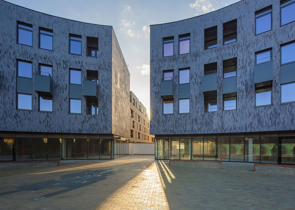 INNOVATIVE USE OF BRICK AND CLAY PRODUCTS: City Park West, Chelmsford, Genesis Housing Association by Pollard Thomas Edwards