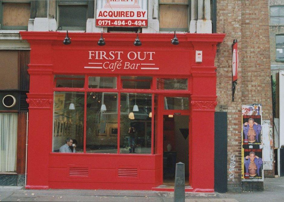 First Out Café.