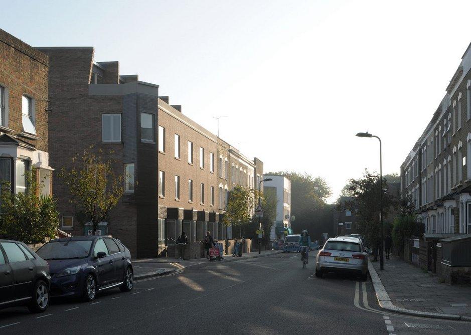 Aikin Terrace, Stoke Newington, Stephen Taylor Architects.