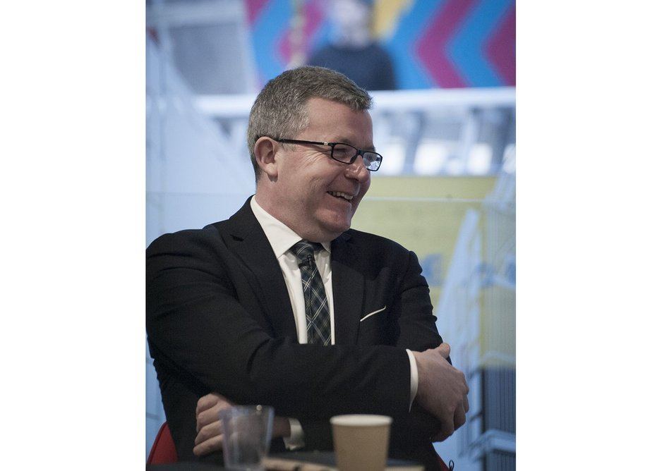 James Kenny, head of global affairs at Group Management Services, Arup.