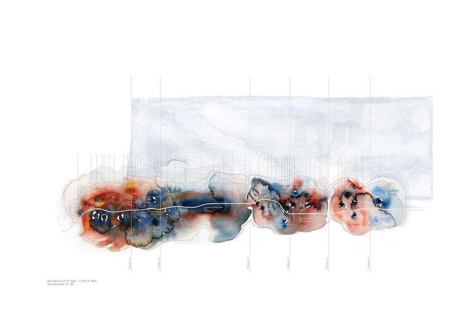 Olfactory Clouds,2010, by Jana VanderGoot of VandergootEzban Studio.