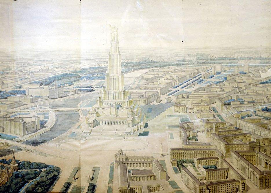 Palace of the Soviets by Boris Iofan.