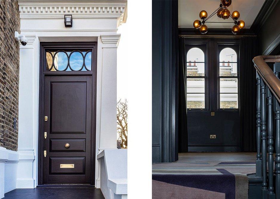 Lomax + Wood timber door and box sash windows.
