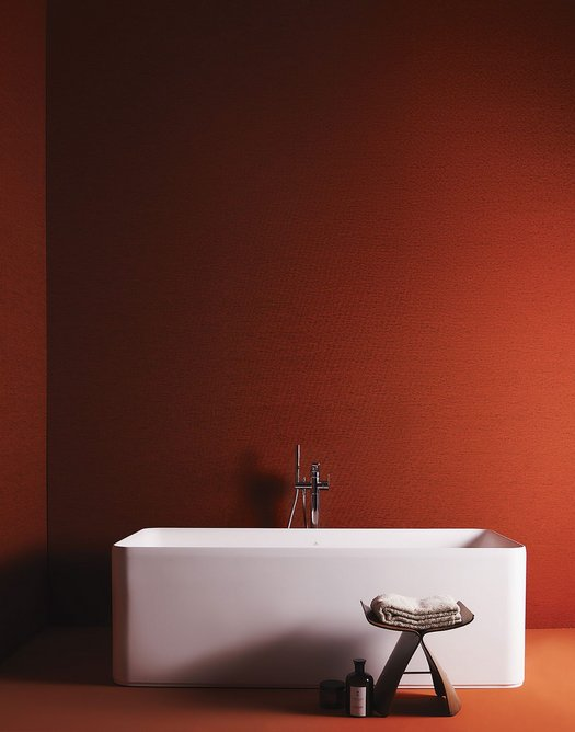 The new Ideal Standard Conca bathtub, part of the Atelier collection.