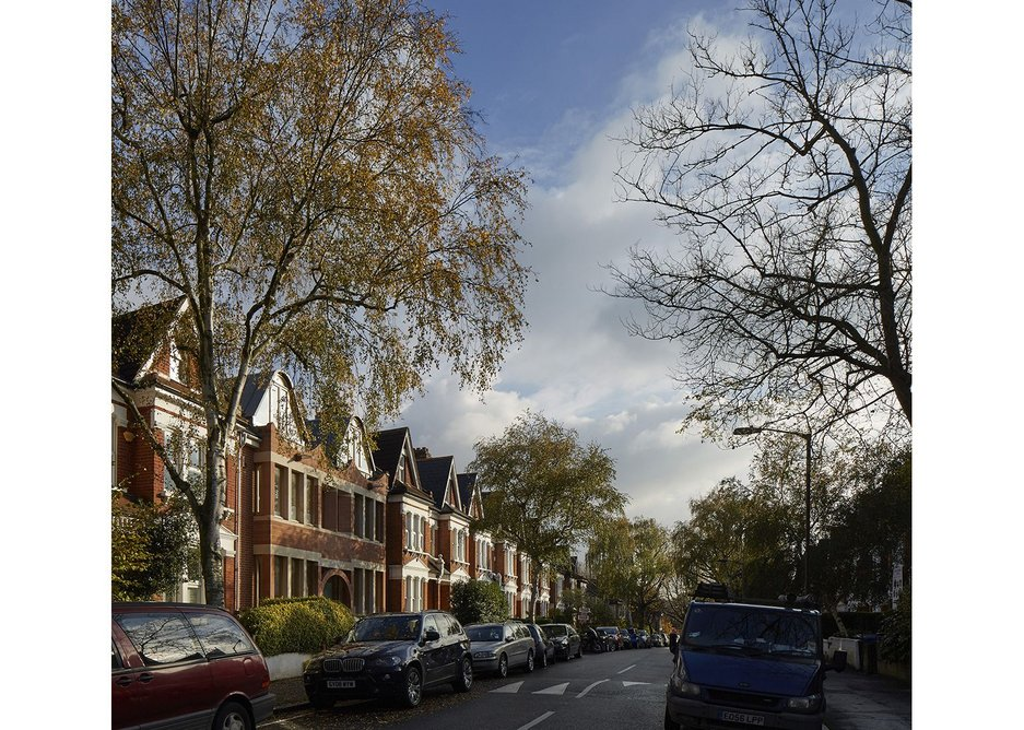 Urbanely in keeping with Edwardian terraced Dulwich