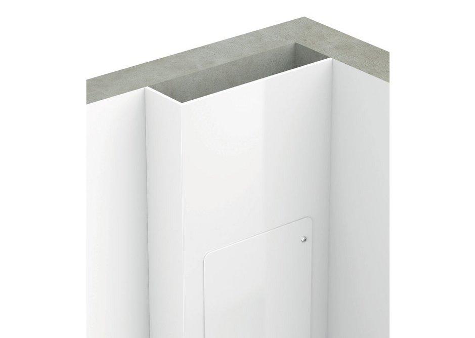Corner wall fitting