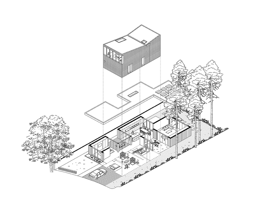 'Filtering the home through the landscape' – McGinlay Bell's Bearsden House