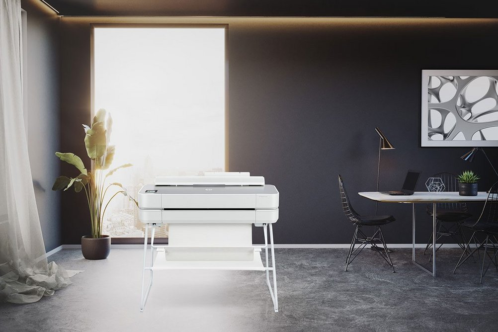 The HP DesignJet Studio Printer Series: Print anywhere from any connected device.