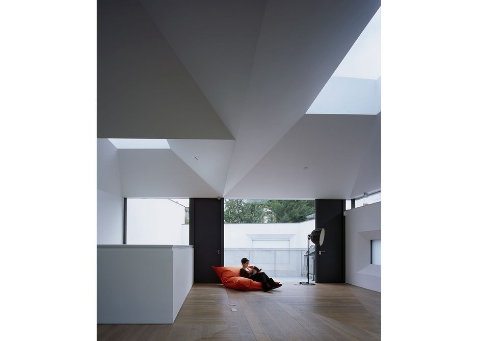 The dramatic interior of Vaulted House, Hammersmith.