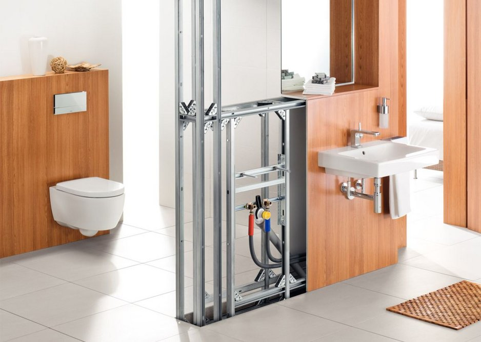 Bathroom fixtures, fittings and wall panels can be updated quickly and easily.