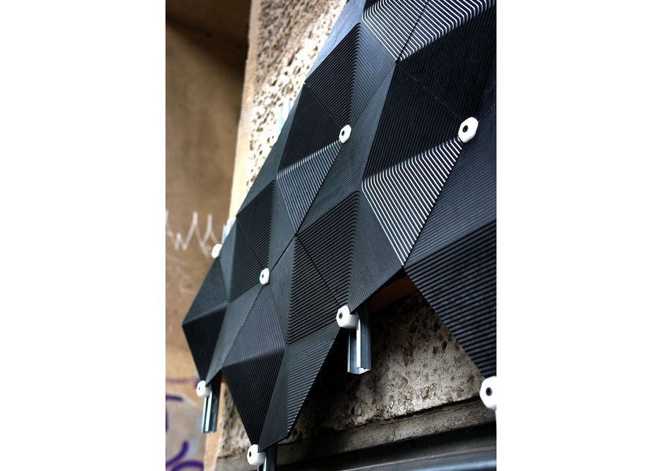 Carbon negative facade by Made of Air
