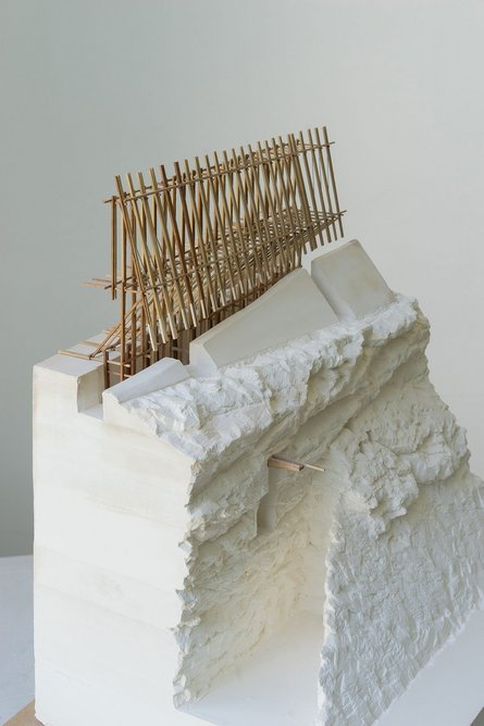 Chapel of the Wind by Dominic Walker. The ongoing personal research project originated from his final year project at the Bartlett School of Architecture.
