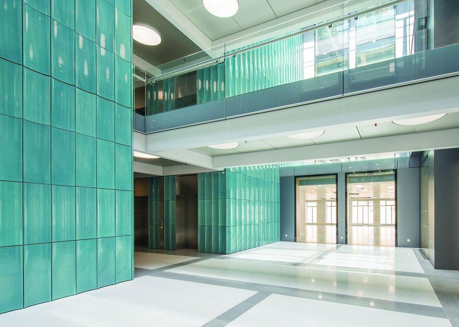 Regent Street, glazed faience produced by Darwen Terracotta and Faience.