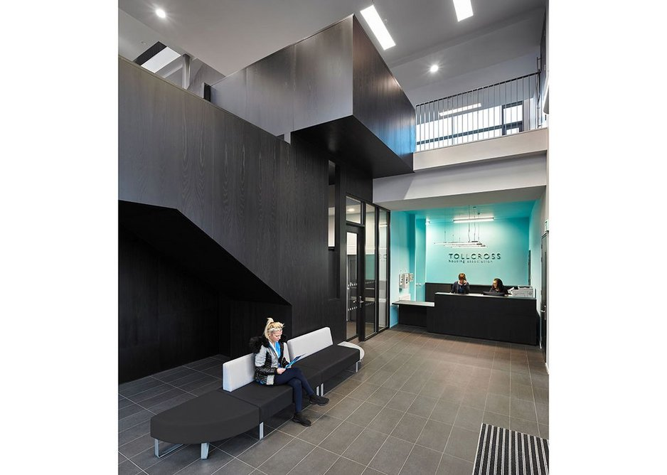 Tollcross Housing Association Offices, Glasgow.