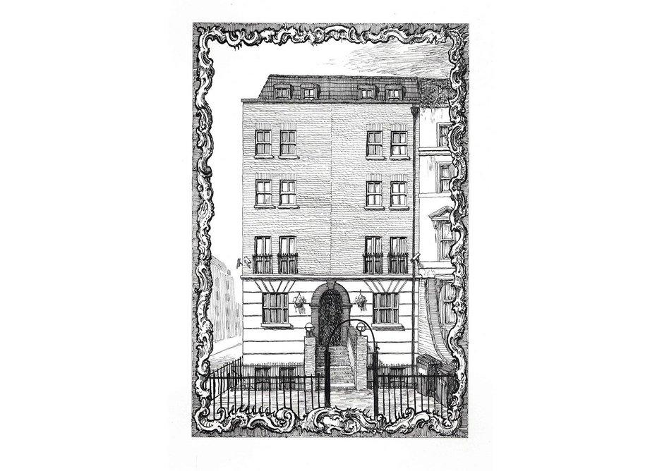 428 Hackney Road, corner of Temple Street, E2 7AP. Courtesy: Herald St, London and Galeria Franco Noero, Turin.
