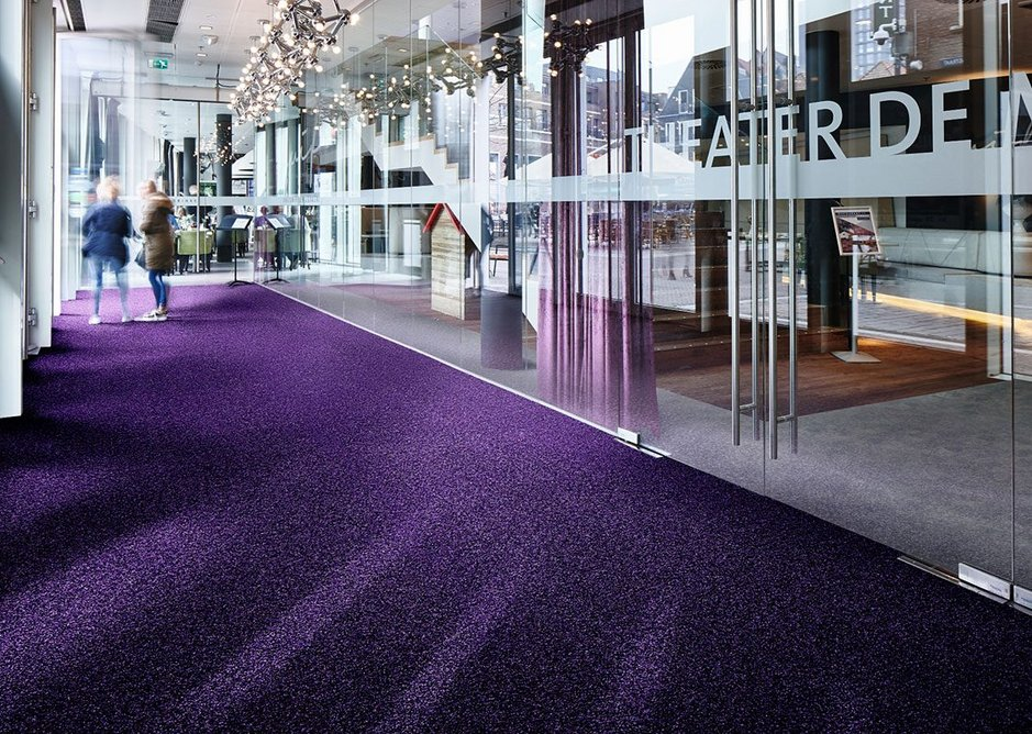 Forbo Coral Brush entrance flooring.