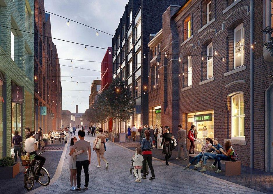 St Paul's Quarter, Birmingham.